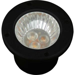 LED Well Light - Landscape Light - 1 Light - Low Voltage in Modern style - 5 Inches wide by 4 Inches high