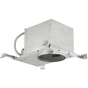 Recessed Housing - 8.375 Inch Width - 1 Light - Line Voltage - Damp Rated