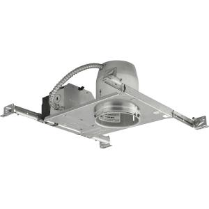 Recessed Housing - 7.875 Inch Width - 1 Light - Low Voltage - Damp Rated