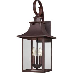 Chancellor 23.5 Inch Outdoor Wall Lantern Transitional - 23.5 Inches high
