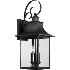 Chancellor 23.5 Inch Outdoor Wall Lantern Traditional Steel - 23.5 Inches high