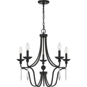 Joules Chandelier 5 Light Steel - 24.25 Inches high