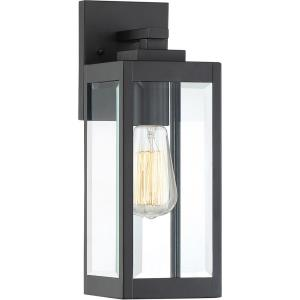 Westover 1-Light Small Outdoor Wall Lantern in Transitional Style 14.25 Inches Tall and 5 Inches Wide