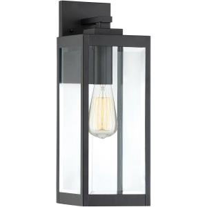 Westover 1-Light Medium Outdoor Wall Lantern in Transitional Style 17 Inches Tall and 6 Inches Wide