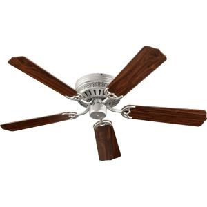 Custom Hugger - Ceiling Fan in Traditional style - 52 inches wide by 7.87 inches high