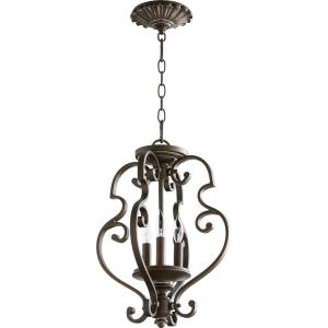San Miguel - 3 Light Dual Mount Pendant in Transitional style - 13.5 inches wide by 17 inches high