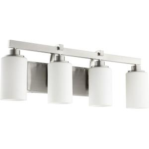 Lancaster - 4 Light Bath Vanity in Transitional style - 27.5 inches wide by 9.5 inches high