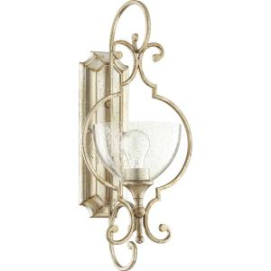 Ansley - 1 Light Wall Mount in Transitional style - 10 inches wide by 21.75 inches high