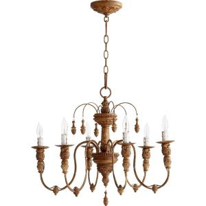 Salento - 6 Light Chandelier in Transitional style - 25 inches wide by 20 inches high