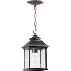 Pearson - 1 Light Outdoor Hanging Lantern in Transitional style - 7 inches wide by 13 inches high