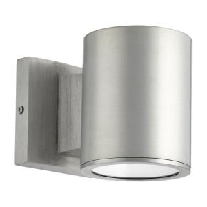 Cylinder - 6W 1 LED Outdoor Wall Lantern in Contemporary style - 4.38 inches wide by 5.25 inches high