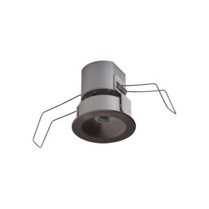 Lucarne Niche - 12V 5.5W 1 3000K LED Fixed Round Downlight in Transitional Style - 2.63 inches wide by 2.69 inches high