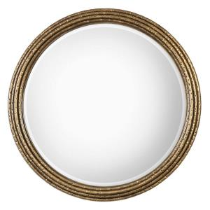 Spera - 42.13 inch Round Mirror - 42.13 inches wide by 2.13 inches deep
