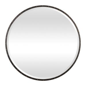 Benedo - 42 inch Round Mirror - 42 inches wide by 1.5 inches deep
