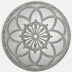 Conselyea - 39.75 inch Round Mirror - 39.75 inches wide by 2.13 inches deep