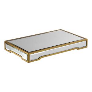 Carly - 18 inch Mirrored Tray