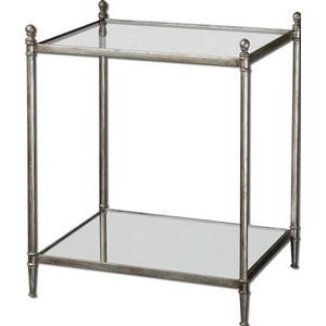 Gannon - 27.13 inch End Table - 22.5 inches wide by 18.13 inches deep