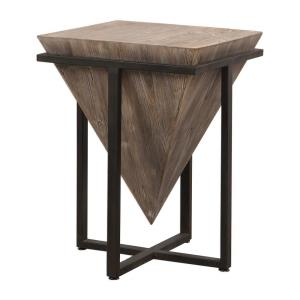 Bertrand - 25.25 inch Accent Table - 18.25 inches wide by 18.25 inches deep