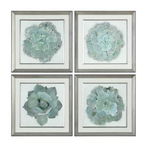 Natural Beauties - 22.13 inch Botanical Print (Set of 4) - 22.13 inches wide by 2 inches deep