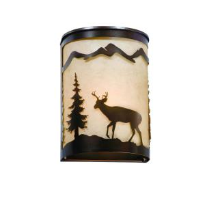 Bryce-One Light Wall Sconce-8 Inches Wide by 11 Inches High